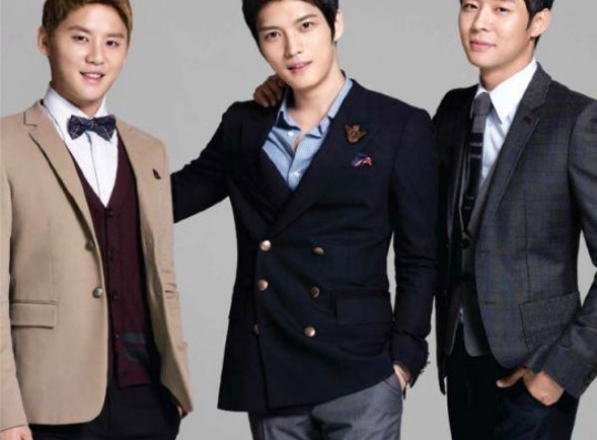 """""""The JYJ members sued the two magazine companies for violating picture rights,"""" a C-JeS spokesperson told eNEWS on Tuesday."""