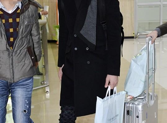 Chansung's Airport Fashion