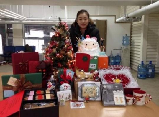 Kim Yeon Ah Donates Holiday Gifts