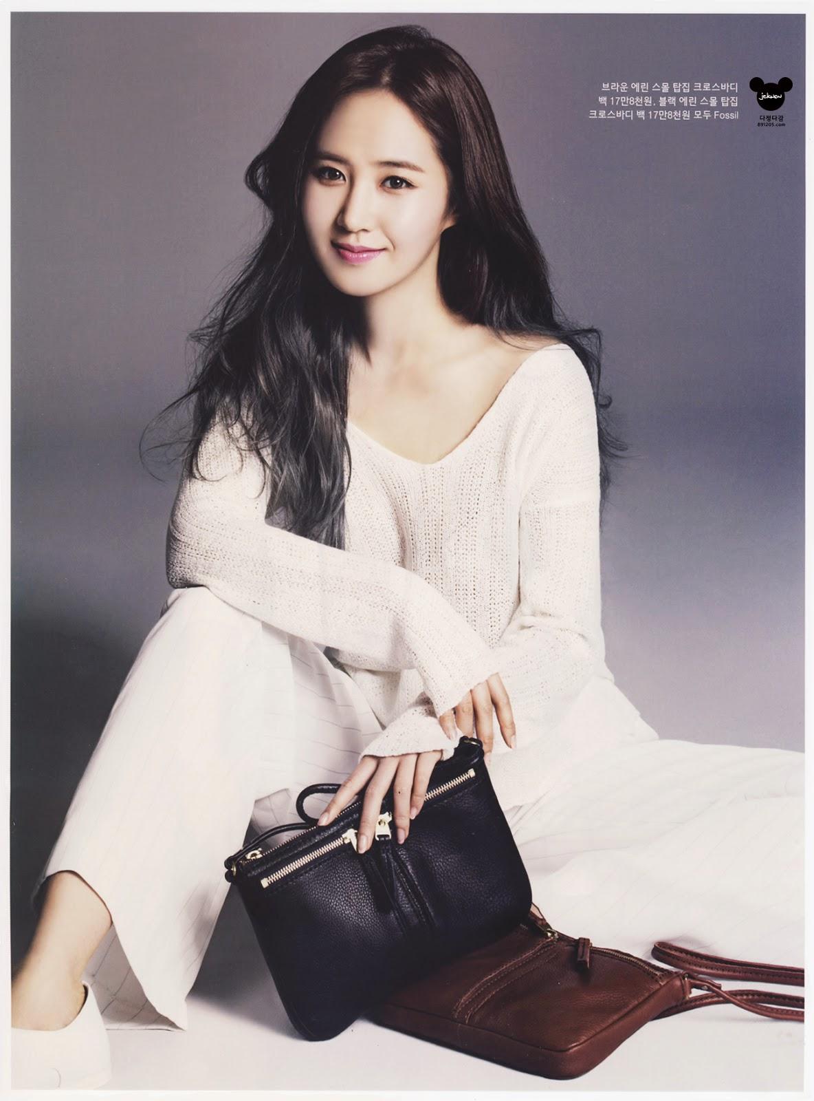 Girls Generation[SNSD] Yuri on Instyle Magazine May 2014 ...