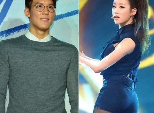 park tae hwan yejin rumors not true