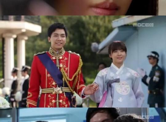 'The King 2 Hearts' Ha Ji Won & Lee Seung Gi - A Tearful Ending