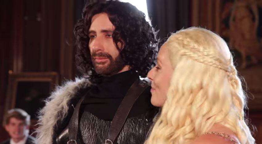 Jon Snow Marries Daenerys! - Game of Thrones Wedding Theme