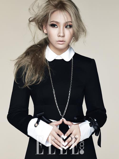 2NE1 CL's Dreamy Atmosphere Pictorials for ELLE Magazine [PHOTOS]