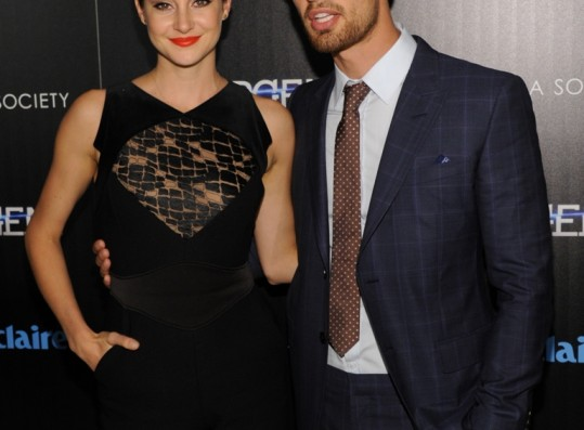 Engaged and shailene james woodley theo Are Theo