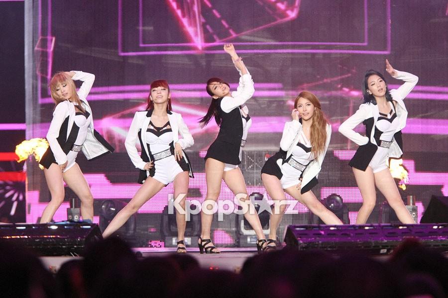 KARA's Sexy Performance at China and Korea Song Festival