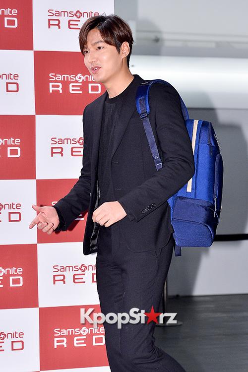 Lee Min Ho at Samsonite Red Talk Event