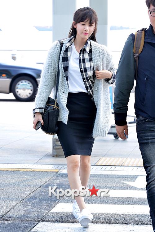 Girls' Generation Yoona at Incheon Airport to China