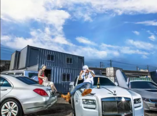 the cover of rapper Dok2's