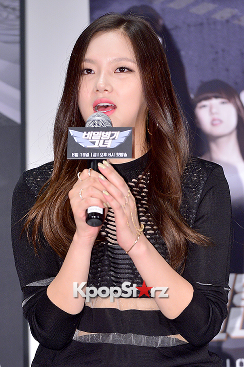 2EYES's Daeun at a Press Conference of MBC Every1 'Her Secret Weapon'