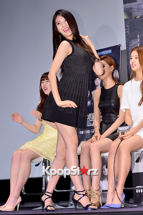 BESTie's Dahye at a Press Conference of MBC Every1 'Her Secret Weapon'