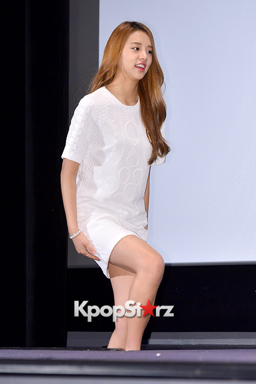 LABOUM'S Solbin at a Press Conference of MBC Every1 'Her Secret Weapon'
