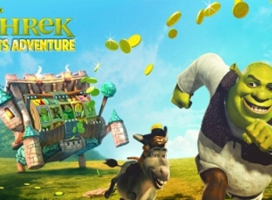 Bonanza Media Launches New Free Shrek Slots Adventure Mobile Game For iOS and Android
