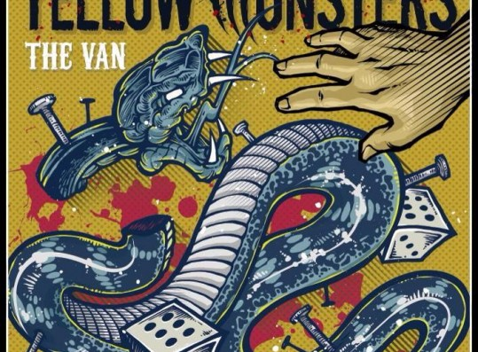 The cover of Yellow Monsters' 2014 album,