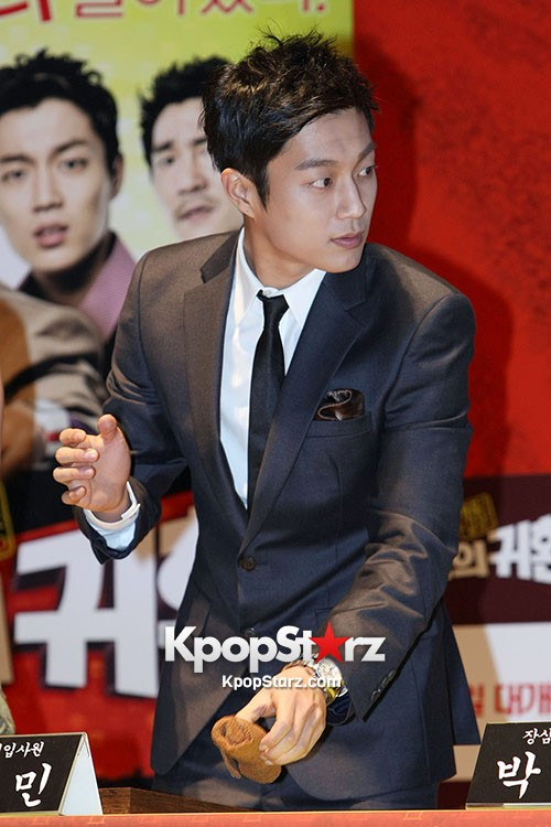 BEAST Yoon Doo Joon in Sleek Suit at Return of the Family