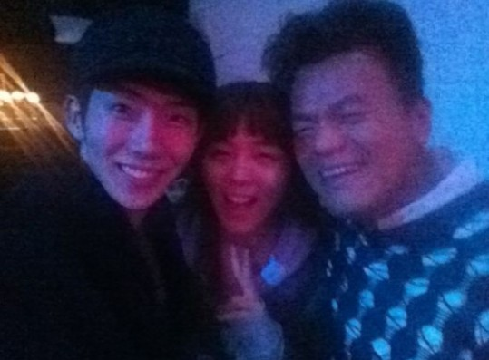 Jokwon, Sunae and JYP