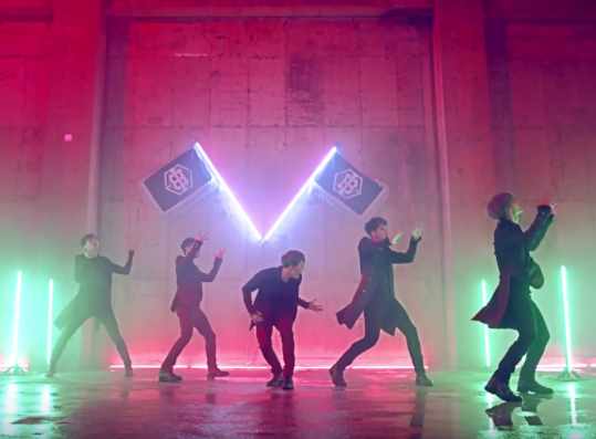 K-pop boy band B.I.G. in the
