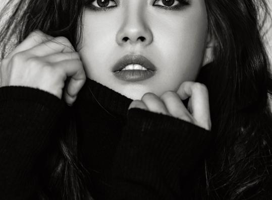 korean actress go ara harper's bazaar magazine january 2016 photos