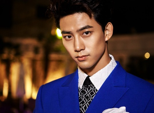 Ok Taecyeon in one of his promotional picture.