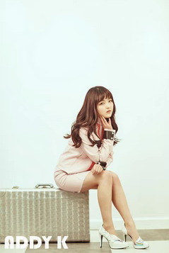 """Seo Shin Ae posed for """"ADDY K"""" and looked mature, leaving her child actress image."""