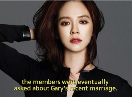 Ji hyo marriage song Running Man