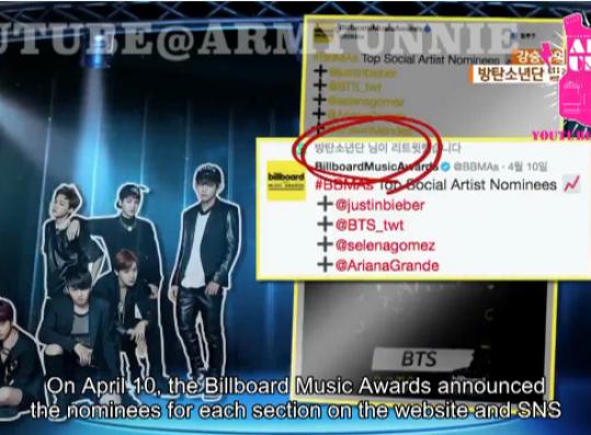 BTS hastag for winning Billboard Music Awards got the #1 trending worldwide.
