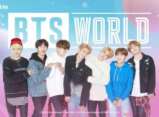 BTS launches their own mobile game, BTS World.