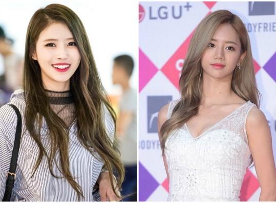 Lovelyz's Mijoo Shares similarity with Girl's Day's Hyeri