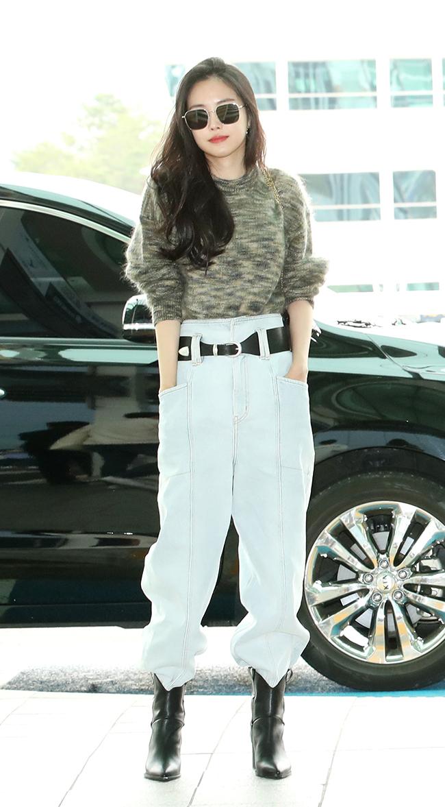 Apink Son Na-eun, Airport Fashion Queen