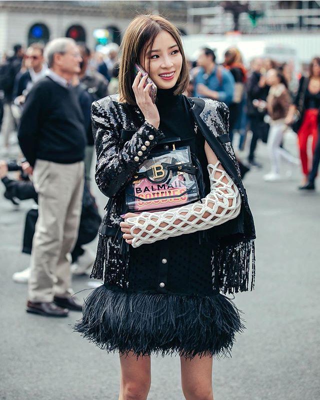 Model Irene Kim, Fashion or cast?