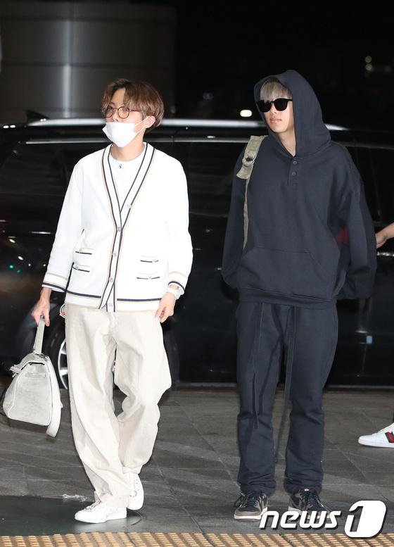 BTS Rapmon and J-hope