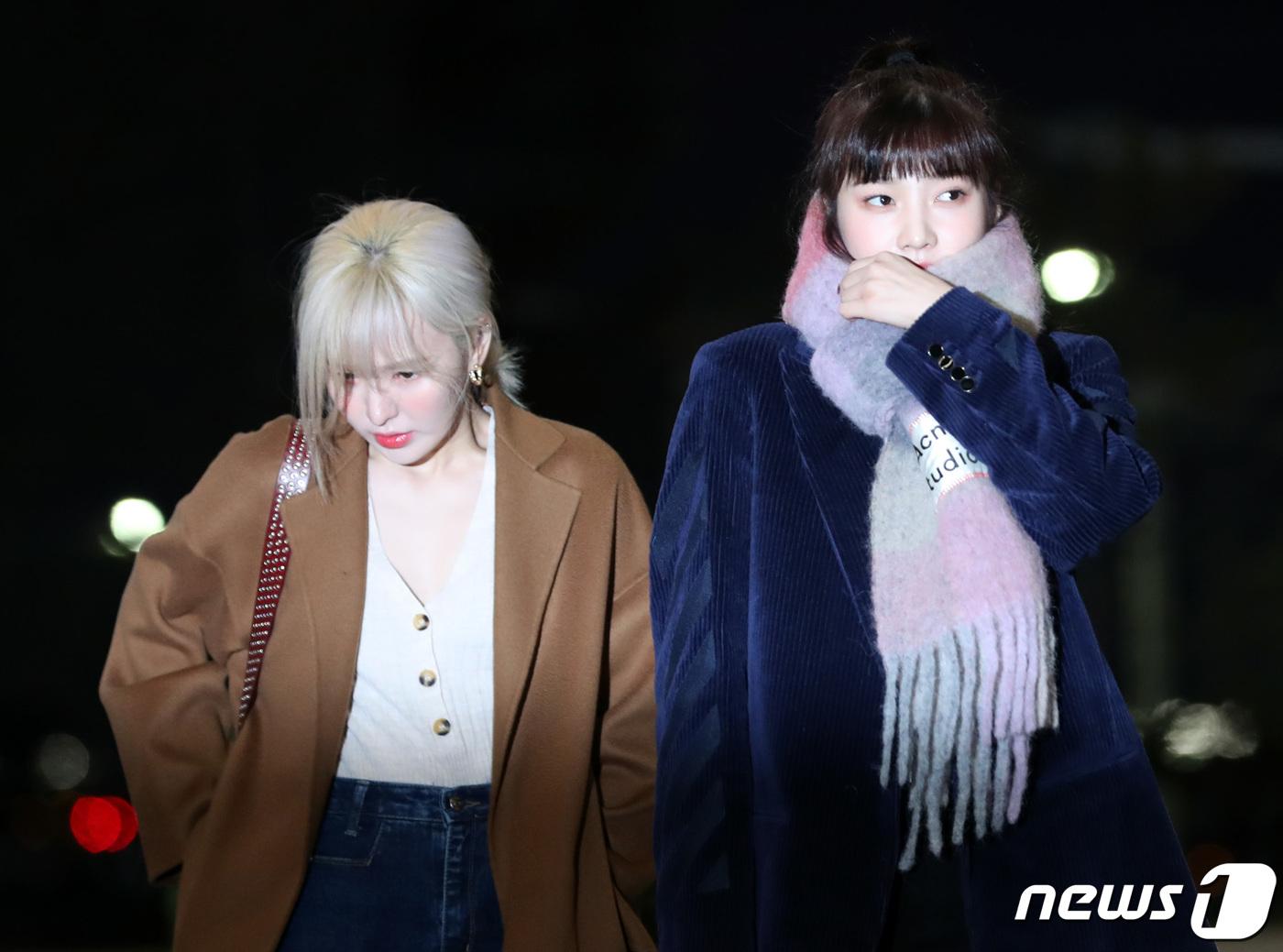 Red Velvet Wendy, Blonde Beauty