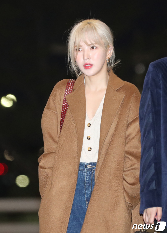 Red Velvet Wendy Blonde Beauty Kpopstarz
