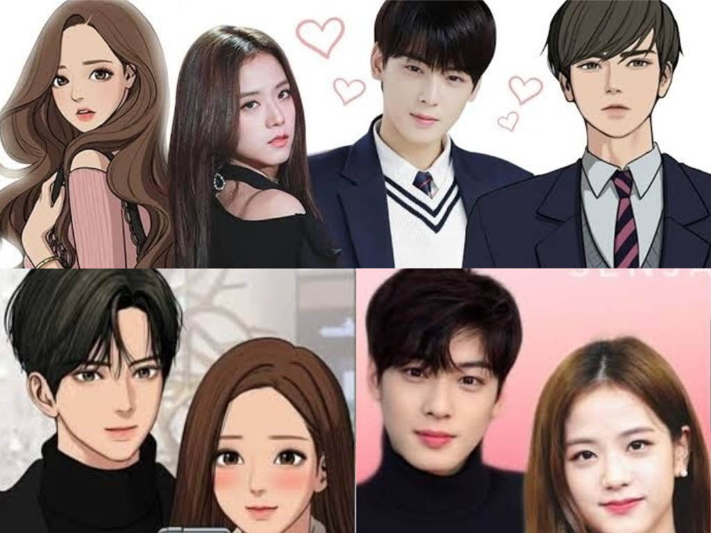 Astro Eunwoo And Blackpink Jisoo Top Fan S Pick For True Beauty Drama Adaptation News Kpopstarz