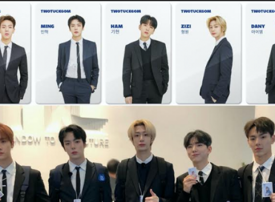 """Monsta X Transforms into Office Employees with Gorgeous IDs in """"TWOTUCKBEBE"""""""