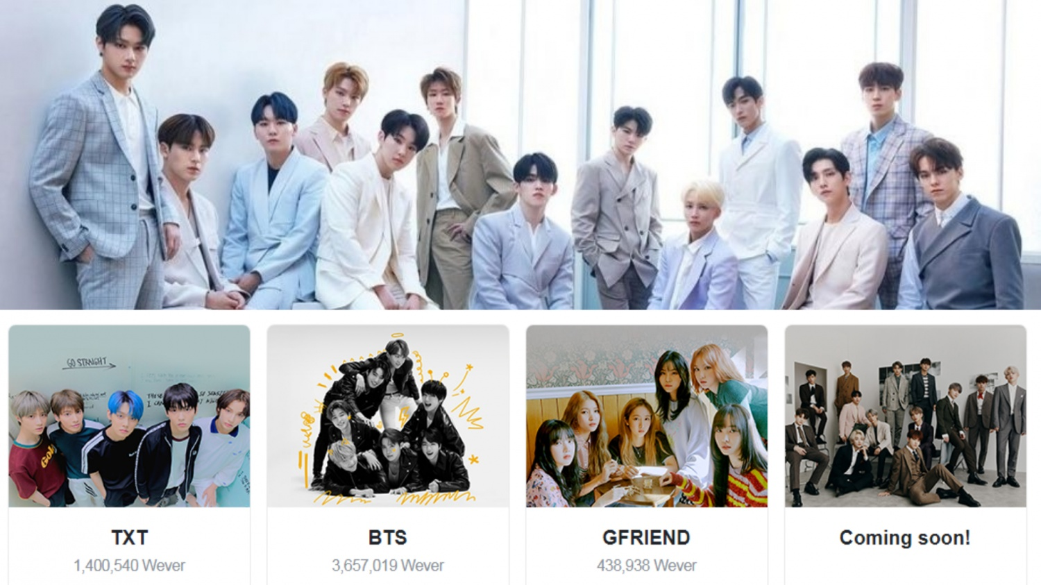 Seventeen To Join Bts Txt And Gfriend On Weverse Carats Are