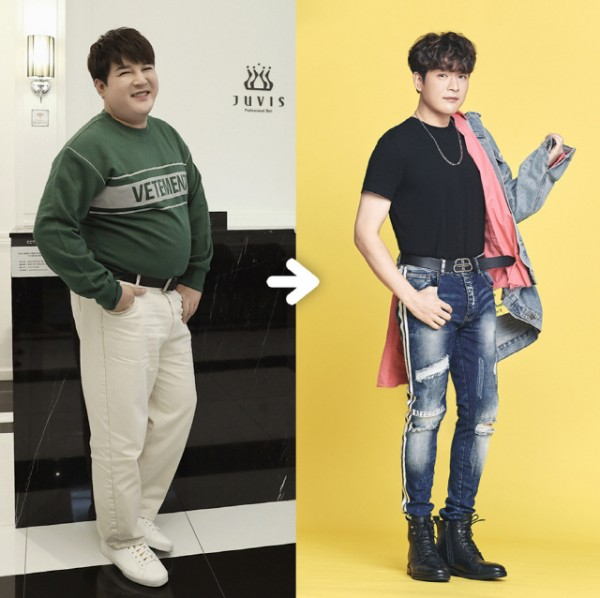 Super Junior's Shindong Loses 37kg in 5 Months + Transformation ...