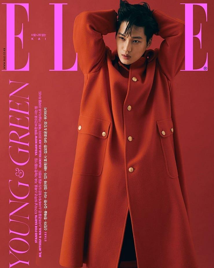 Exo Kai, gorgeous suit + unique aura, a fashion icon that no one can replace
