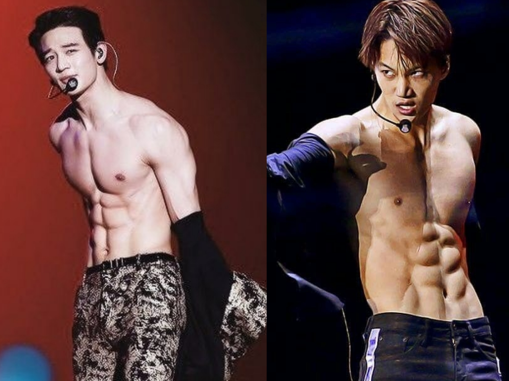 K Pop Idols Who Are Known For Their Killer Abs News Kpopstarz