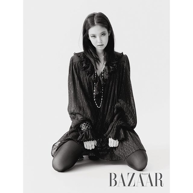 BLACKPINK's Jennie is Svelte and Sophisticated in Chanel Pictorial with Harper's Bazaar