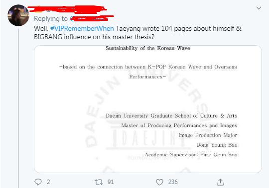 BIGBANG Who have Master's Degrees