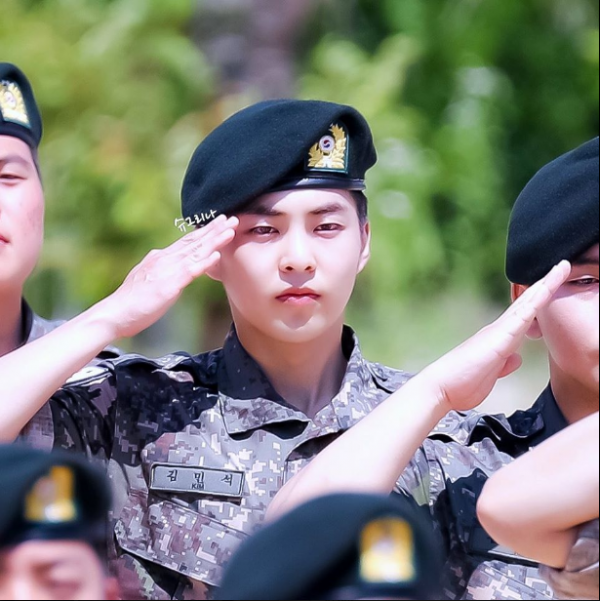Look! EXO Xiumin is a Real-life Captain Ri