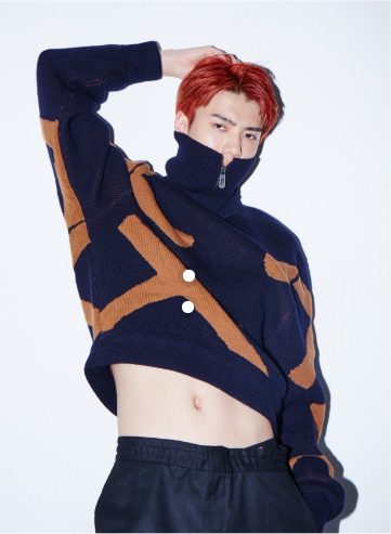 Wow Check The Hottest Male K Pop Idols Rocking Crop Tops News Kpopstarz