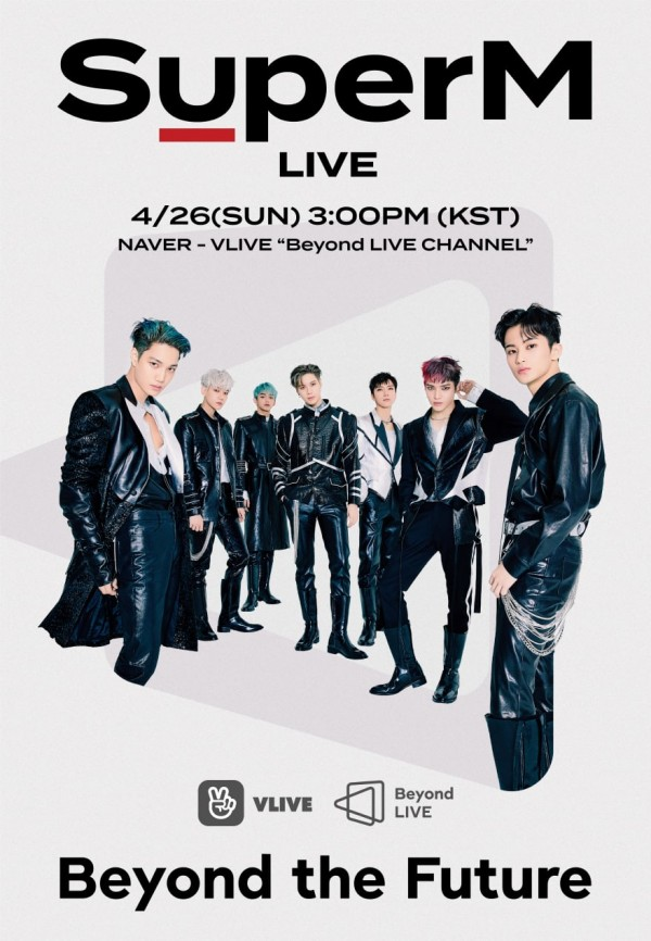 SM Entertainment And Naver Releases New Streaming Concert Platform + SuperM Performs Kickoff Concert