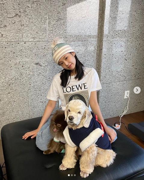 Jennie Poses for Vogue Korea with Kuma the Dog: Where is Kai?