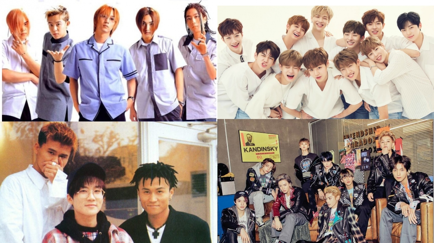 these korean groups are the only million sellers in the k pop history
