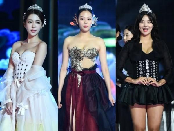 miss korea hanbok