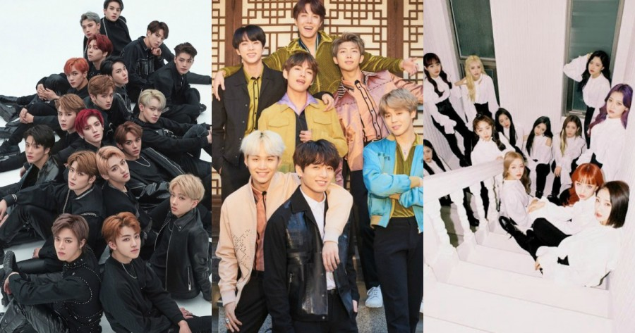 Here Are The 7 Most Searched K-Pop Groups of 2020