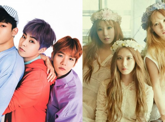 These Are The 8 Best K-Pop Trio Sub-Units, According to Fans