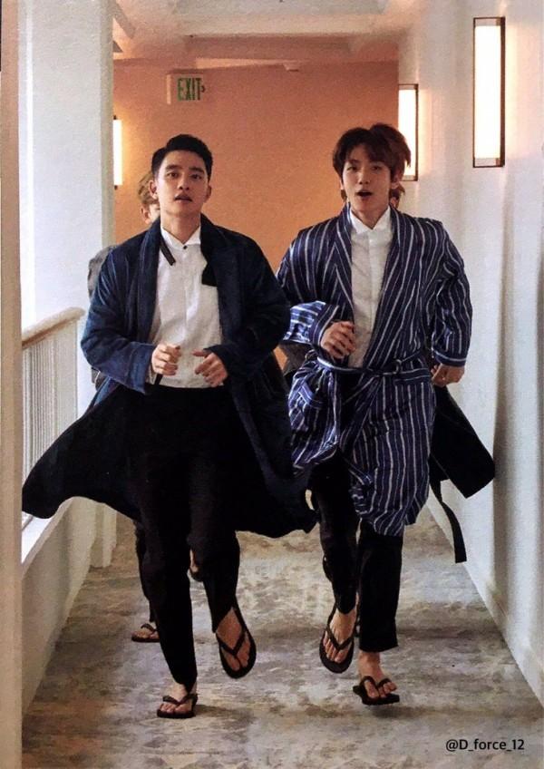 D.O and Baekhyun